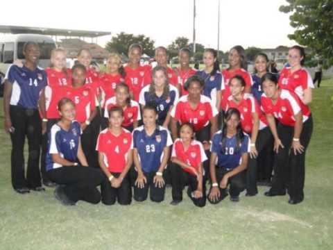 Cayman Girls National Team Soccer