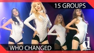 15 KPOP Groups Who Drastically Changed Concepts