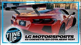 LG Motorsports' C8 Corvette Z51 COTA Aero Test
