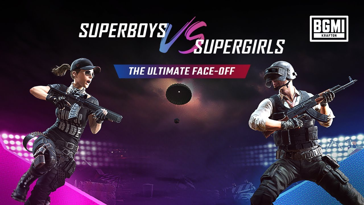 BGMI Superboys vs Supergirls | The Ultimate Face-Off