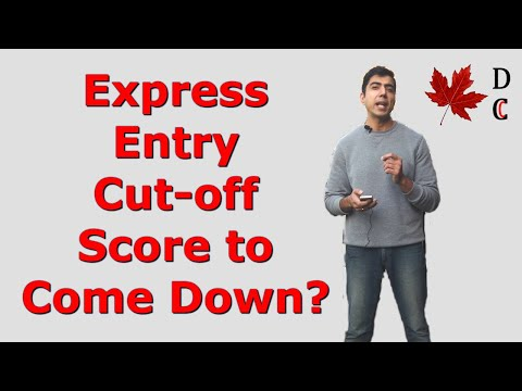 Express Entry Score To Come Down? | Express Entry Canada Score Prediction | Desi Chale Canada