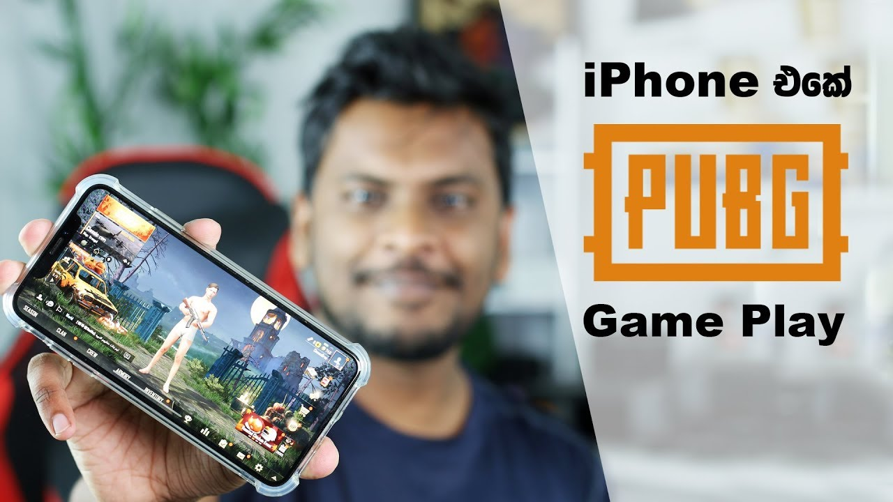 Pubg Wallpaper For Iphone Xs Max: PUBG Game Play On IPhone Xs Max 🇱🇰