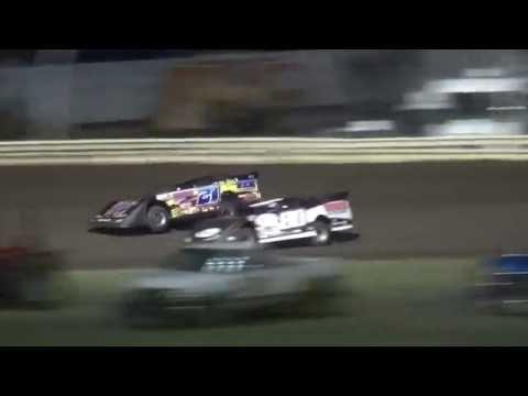 Late Model Heats Lee County Speedway 8/19/16