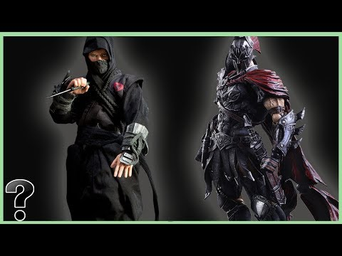 What If A Spartan Fought A Ninja?