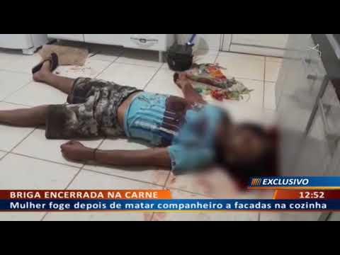 DFA - Mulher mata companheiro a facadas após várias brigas e discussões.