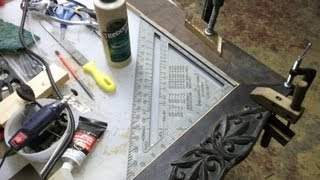 How To Build A Reclaimed Oak Mirror Frame