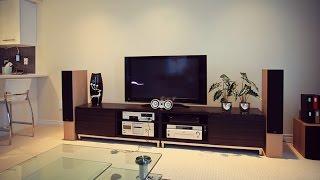 Кухня, столовая, гостиная - современный дизайн