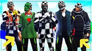 GTA 5 ONLINE *1.40* ✘ BEST 5 MODDED OUTFITS! MODO DIRECTOR CONJUNTOS HACKER TRUCO PS4 ONLY