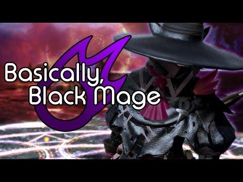 Basically, Black Mage [FFXIV]