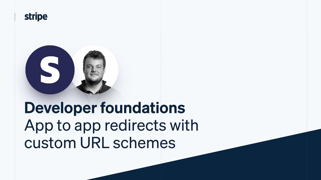 App to app redirects with custom URL schemes