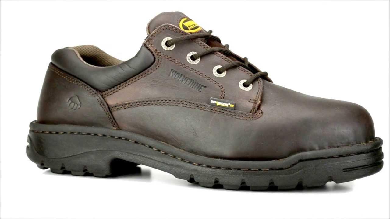 5b44ed75331 Men's Wolverine W04373 Steel Toe Work Shoe @ Steel-Toe-Shoes.com