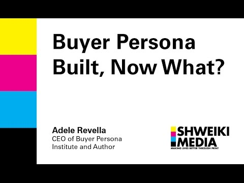 Your Buyer Persona Is Built, Now What?