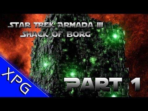 Star Trek Armada III - CaptainShack Plays as the Borg!