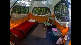 Tent Camping at Fronтenac State Park Minnesota