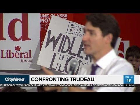 Canadian Man Confronts Trudeau Over Adoption Struggles