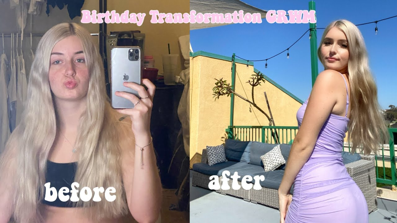 BIRTHDAY TRANSFORMATION GRWM