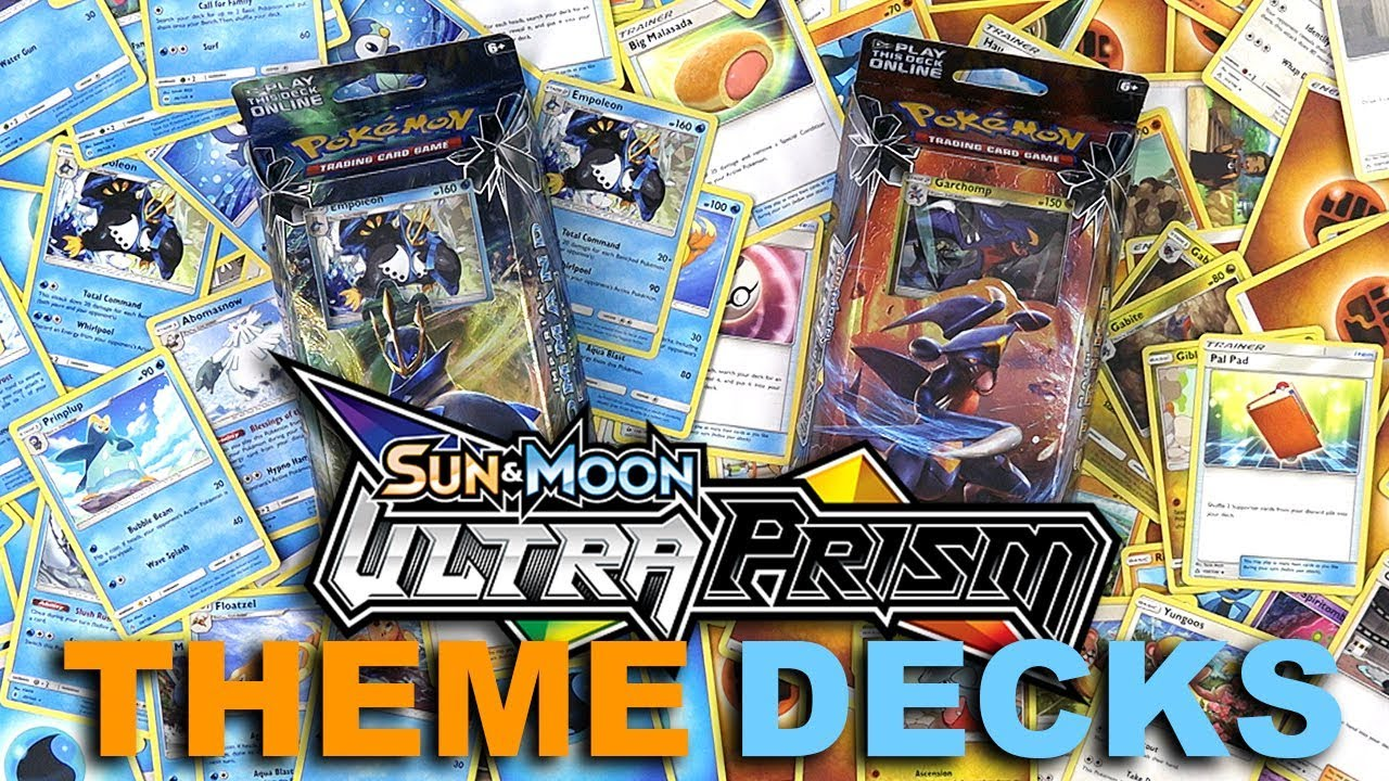 NEW Ultra Prism Pokemon TCG Theme Deck Review - YouTube