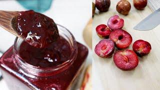 Cách làm mứt mận chua ngọt chỉ với 2 nguyên liệu | How to make Plum Jam | Nhi Chan