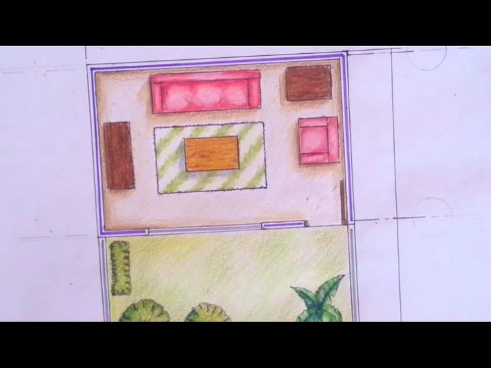 Tutorial dibujo arquitectonico 7 sombras youtube for Dibujo arquitectonico
