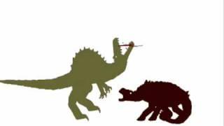 PDFC - Spinosaurus vs Ankylosaurus