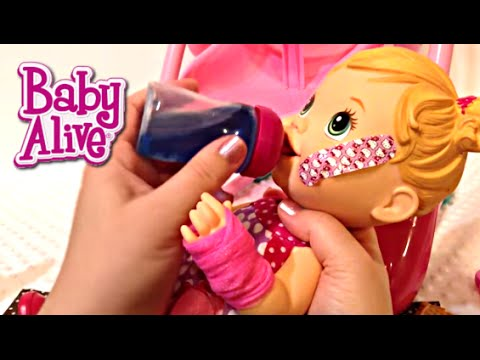 Baby Alive Baby Gets a Boo Boo Doll