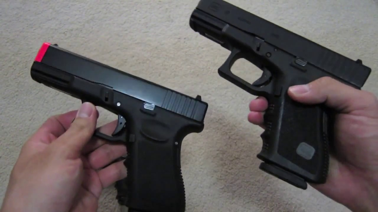 ... Arms) Glock 19 VS ... Glock 19 Airsoft