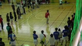 井田さんの最後の試合です!