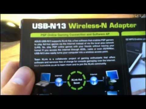 DRIVERS ASUS USB-N13 WIRELESS ADAPTER