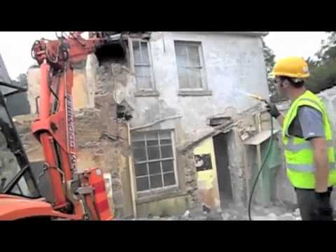 Devon Builders Victorian House Restoration Demolition & Complete Re-Build Case Study Video Part 1
