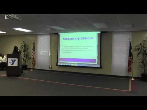 Springfield College Research Project Presentation & The Denver Harbor Multi Service Center
