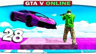 ч.28 Один день из жизни в GTA 5 Online - УМРЁШЬ, ЕСЛИ НЕ ПОПАДЁШЬ!!!!