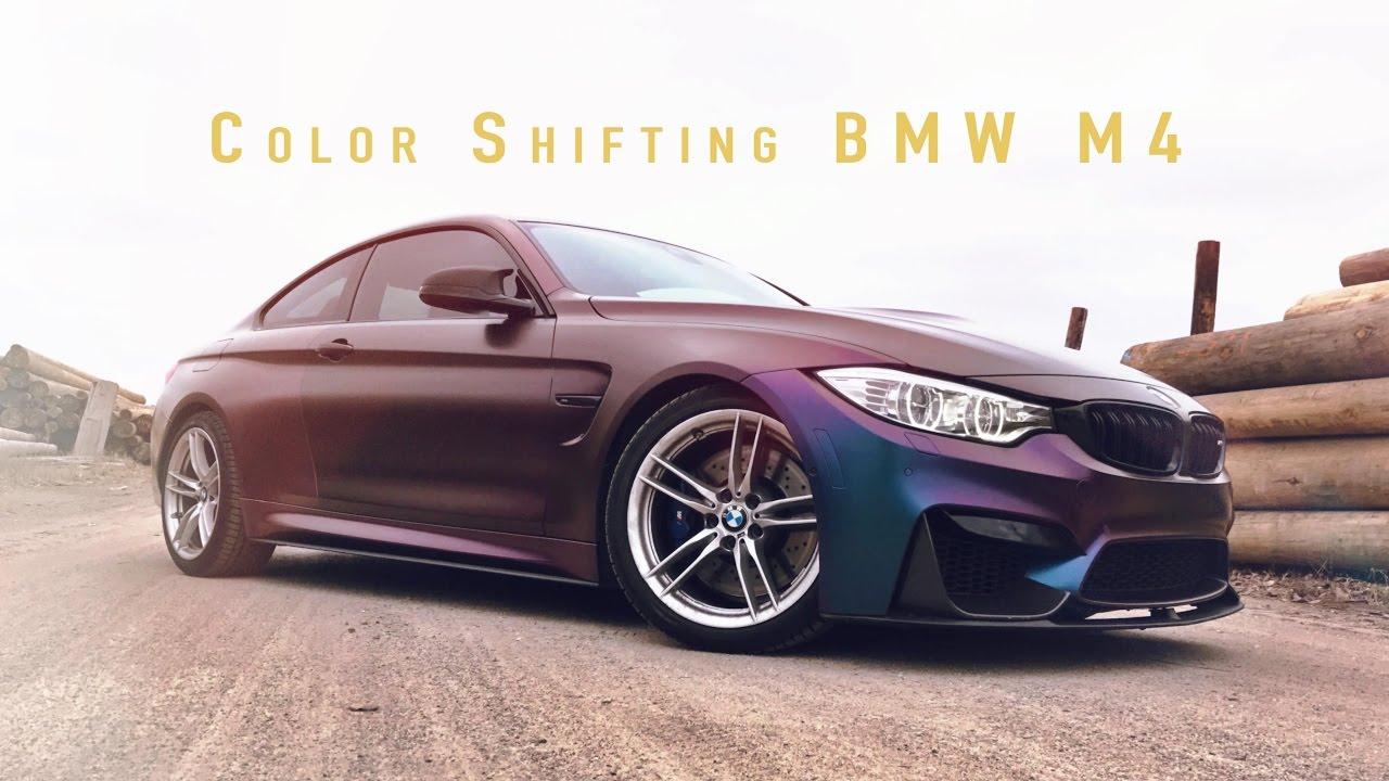 Color Change Wrap Bmw M4