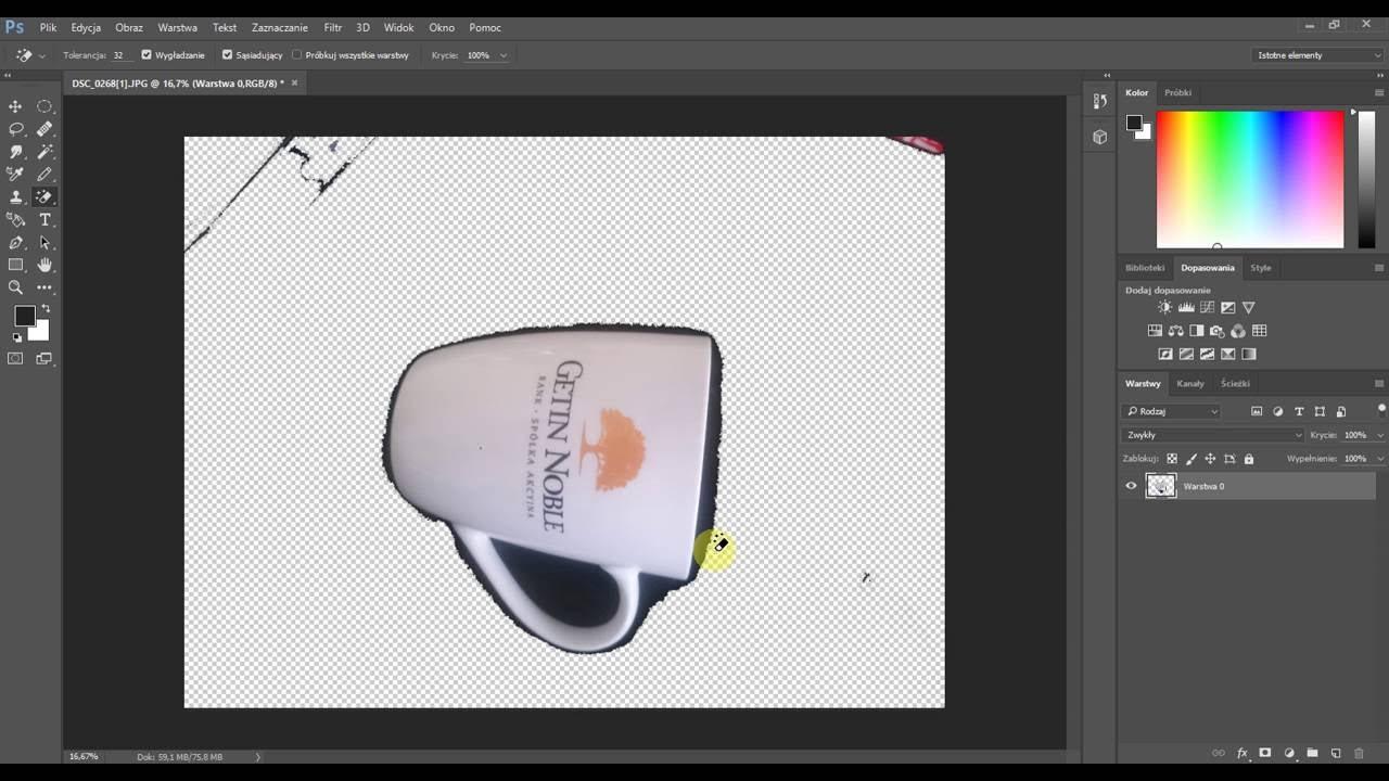Adobe Photoshop podstawy 1 - Tworzymy nowy projekt - YouTube