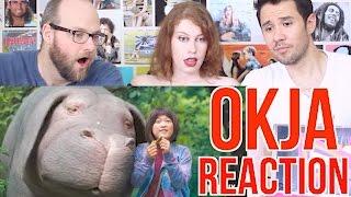 Okja Trailer -REACTION - Netflix Movie