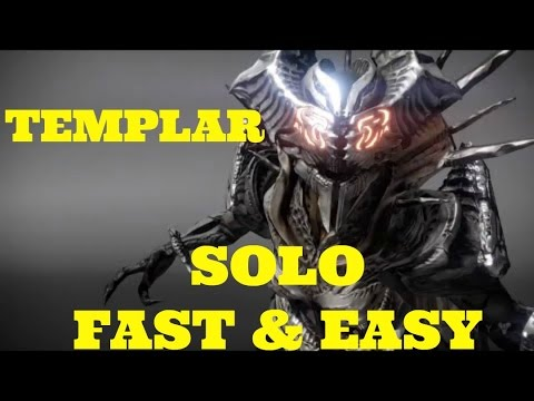 Destiny pushing templar off the map solo fast easy vault of glass