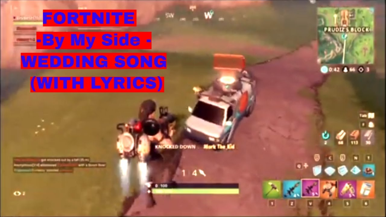 Fortnite - YouTube--By My Side - WEDDING SONG (WITH LYRICS)