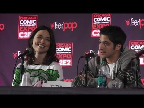 C2E2 2014: Teen Wolf Q&A Panel with Tyler Posey and Crystal Reed