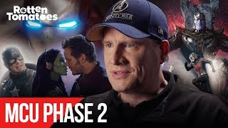 MCU Phase Two: Marvel Studios President Kevin Feige Describes the MCU's Evolution | Rotten Tomatoes