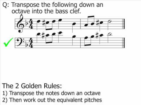 Music Theory - Transposition: Part 1 (The Basics)