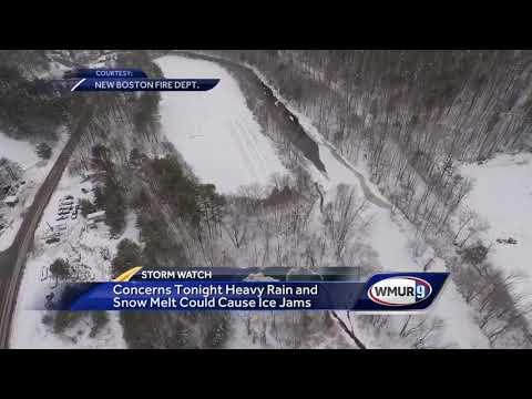 Officials: Heavy rain, snow melt could cause ice jams