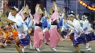 8/14徳島YONDEN演舞場で行われたうしお連の演舞.