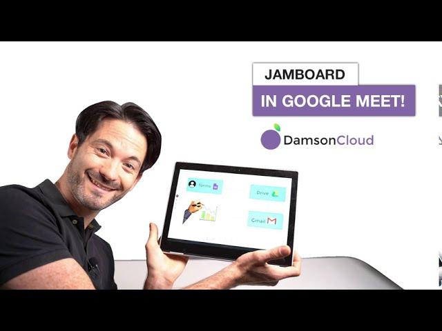 Jamboard (Whiteboarding) in Google Meet!