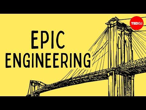Video image: Epic Engineering: Building the Brooklyn Bridge - Alex Gendler