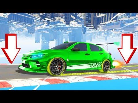 *NEW* UPSIDE DOWN DRIVING CAR In GTA 5! (DLC)