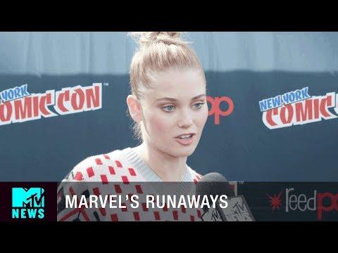 Download Youtube: 'Marvel's Runaways' Has 'The O.C.' & 'Gossip Girl' Vibes   New York City Comic Con   MTV News
