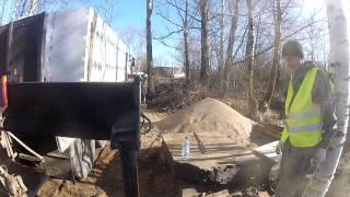 Перевозка газобетона манипулятором 1(Санкт-Петербург. Компания Градус. Манипулятор HMF 4720 на шасси Scania P380. http://www.9474444.com., 2013-08-18T19:03:39.000Z)