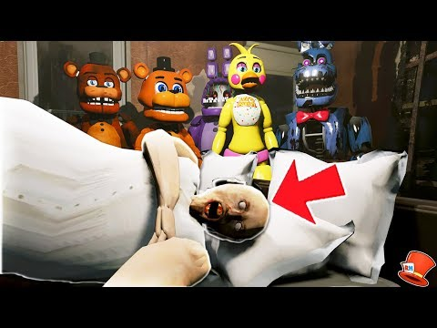 DON'T WAKE GRANNY! (GTA 5 Mods For Kids FNAF RedHatter)