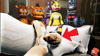 DON'T WAKE GRANNY! (GTA 5 Mods For Kids FNAF RedHatter)