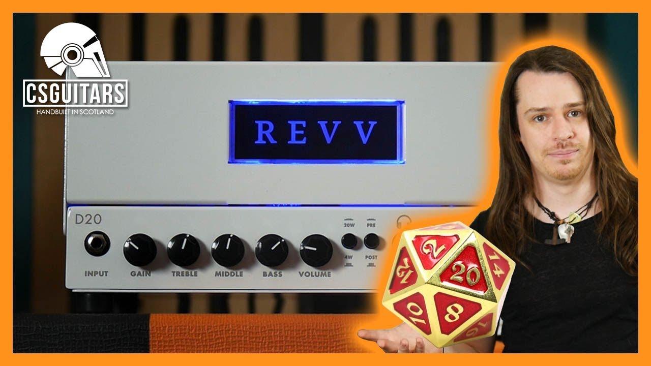 Revv D20   The Most OP Lunchbox Valve Amp!