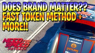 Does BRAND matter?? FAST TOKEN FARM!! NEED FOR SPEED PAYBACK